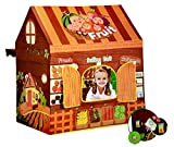Toyshine Big Size Musical Fruit Shop Tent House Play Tent House with Window, Opening Door