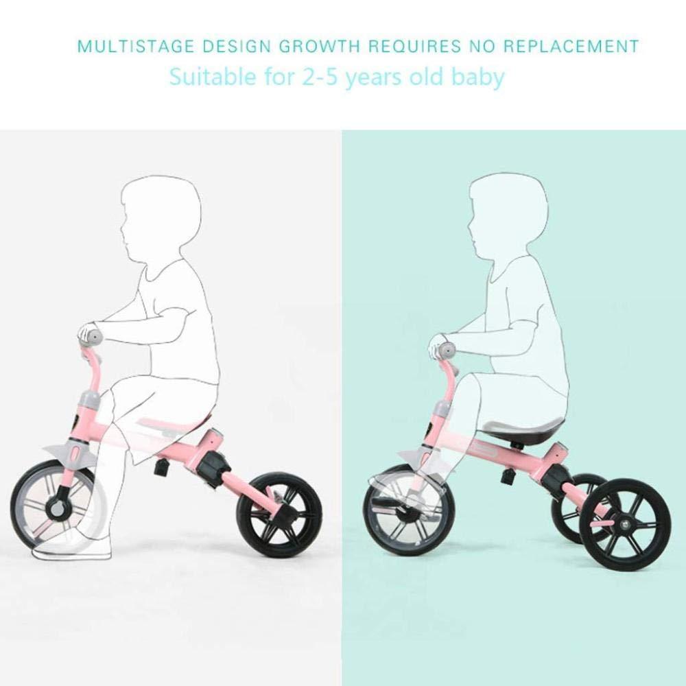 XINCH Andador para bebés, 2 en 1 Triciclo para niños Bicicletas de ...