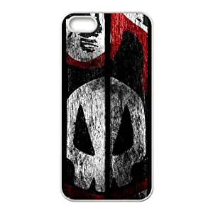 Creative Skull graffitti Cell Phone Case for iPhone 5S