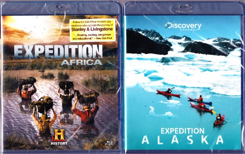 The History Channel : Expedition Africa , Expedition Alaska : Blu-Ray 2 Pack : 3 Disc Set