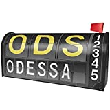 NEONBLOND ODS Airport Code for Odessa Magnetic Mailbox Cover Custom Numbers