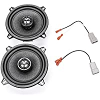 1995-1997 Nissan Hardbody Pickup Front Door 5.25 150 Watt Replacement Upgrade Speakers by Skar Audio