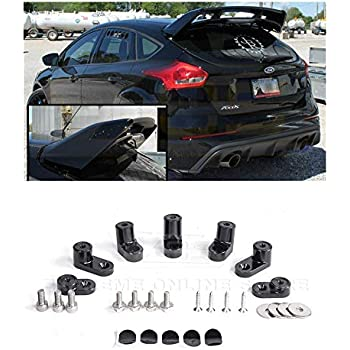 Amazon.com: VXMOTOR Rear Wing Spoiler Riser Extender Kit ...