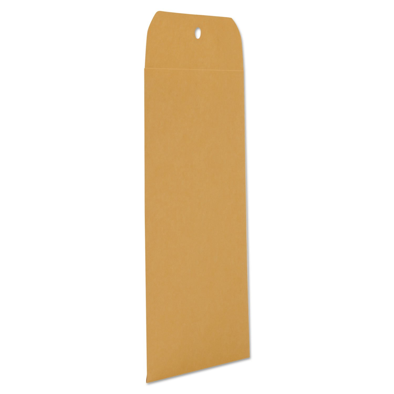 UNV35261 Kraft Clasp Envelope, Side Seam, 28lb, 6 1/2 x 9 1/2, Light Brown, 100/Box by UNV35261 (Image #3)