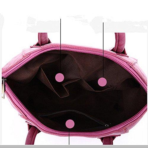 Leatherette Black Cloth Eysee Women Bag v7TExY