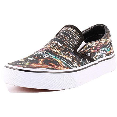 Vans City Classic Slip-On Womens Trainers Black Multi