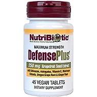 Nutribiotic Defenseplus Tablets, 250 Mg, 45 Count