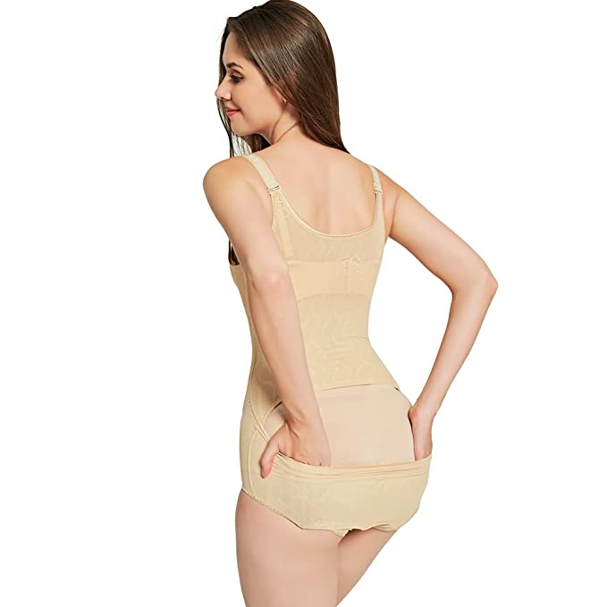 81e9e237fce58 Queenral Body Shaper Butt Lifter Shapewear with Tummy Control Bodysuit Black  at Amazon Women s Clothing store
