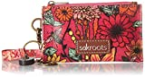 Sakroots Id Lanyard, Raspberry in Bloom, One Size