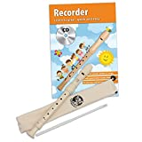 CASCHA HH 1510 EN Recorder Set (Baroque Fingering) and English Recorder School Plus CD
