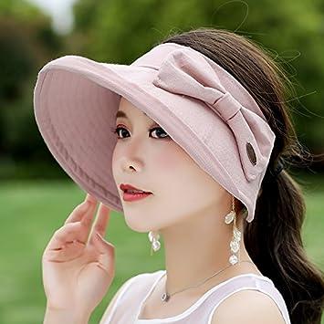 6c3e735c2f9 TIANLU Sun Hat- Hats Girl Summer Uv Large Outdoor Stroll Along The Wild Sun  Hat