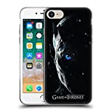 Official HBO Game of Thrones Night King Season 7 Key Art Soft Gel Case Compatible for iPhone 7 / iPhone 8
