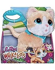 Furreal Walkalots Big Wags interactief speelgoedkatje, maakt leuke dierengeluidjes en huppelt, vanaf 4 jaar