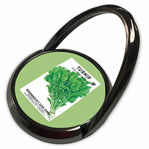 (3dRose BLN Vintage Seed Packet Reproductions - Turnip Seven Top for Greens Vegetable Seed Packet Reproduction - Phone Ring (phr_170950_1))