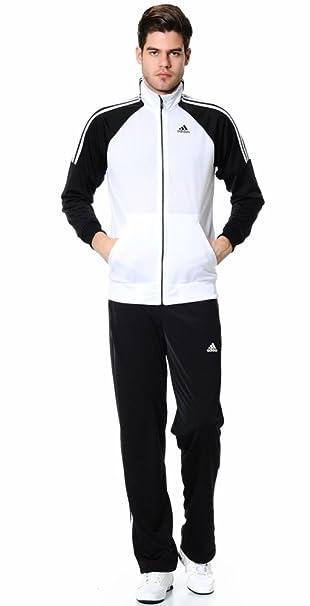 adidas Herren Riberio Track Suit Jacke & Hose Medium schwarz