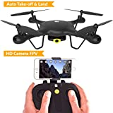Cheap TRNDlabs SPECTRE Drone with HD Camera Live Video – WiFi FPV Drone With Auto Take-Off & Land – Racing Aerobatic Flips – Mini Quadcopter