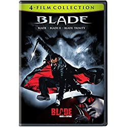 4 Film Favorites: Blade Collection (Blade / Blade II / Blade: Trinity / Blade: House of Chthon)