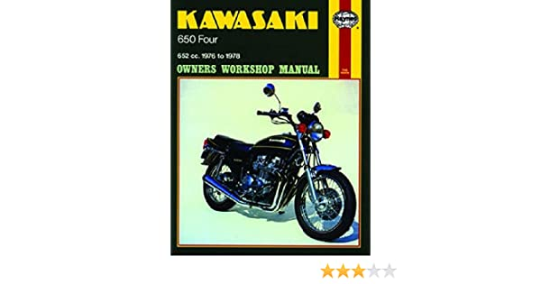 1976-1978 Kawasaki Z650 KZ650 Z KZ 650 HAYNES REPAIR MANUAL