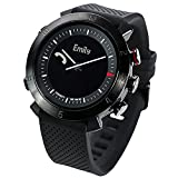 COGITO Classic Smart Bluetooth Connected Watch for Smartphones - Black Onyx
