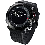 COGITO CW2.0-001-01 Classic Smart Bluetooth Connected Watch for Smartphones - Black Onyx