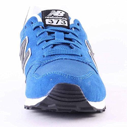 New Balance ML373SBB Mens Suede & Mesh Trainers Blue Black - 39.5 EU