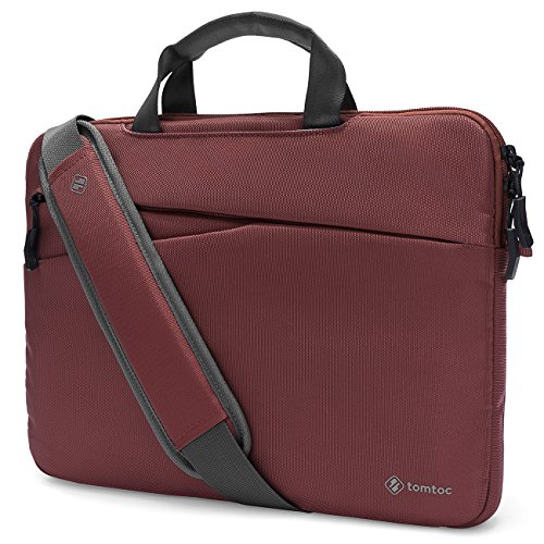 Tomtoc 3-in-1 Slim Laptop Shoulder Bag, 360° Protective Lap