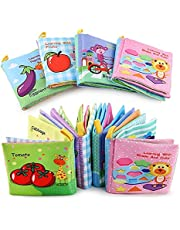 Tota Toys Set of Four Canvas Books for Baby