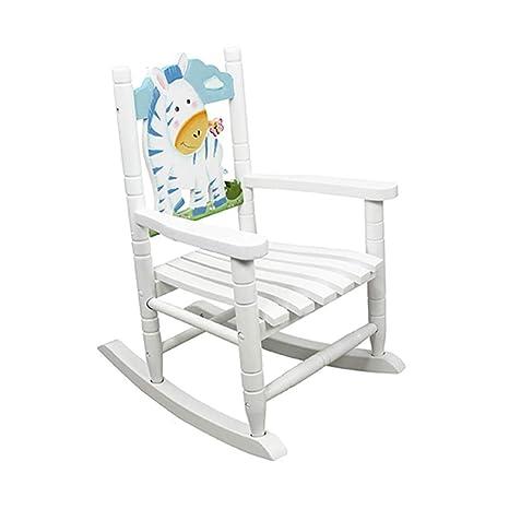 ZBHW Silla Mecedora de Juguete, sillones de Madera ...