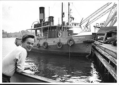 Vintage photo of Tugboat Stark grog at Djurg229;rden