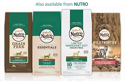 NUTRO WHOLESOME ESSENTIALS Natural Senior Dry Dog Food Farm-Raised Chicken, Brown Rice & Sweet Potato Recipe, 30 lb. Bag