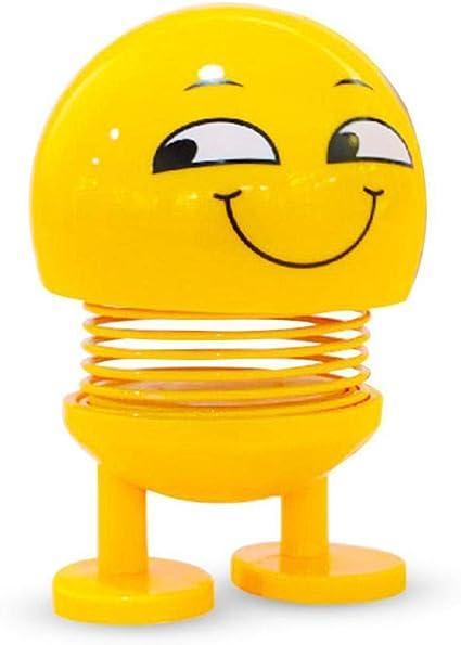 Foonee Poupee Smiley Shake Head Puppe Mignonne Pour Emoji Mignon Poupee Smiley Jouet Parfait Pour Decoration De Voiture Maison Tableau De Bord Bureau Decoration De Fond Jouet Smiley Schielen Amazon Fr Cuisine