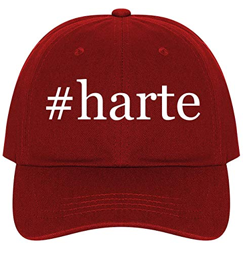 #Harte - A Nice Comfortable Adjustable Hashtag Dad Hat Cap, Red (Schaffner Marx Collection Hart)