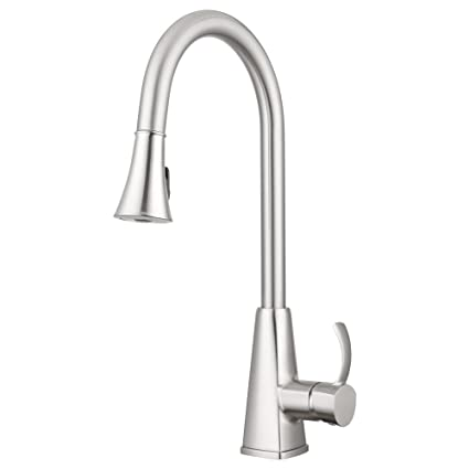 Bridgeport Pull Down Kitchen Faucet by Pacific Bay (Brushed Satin ...