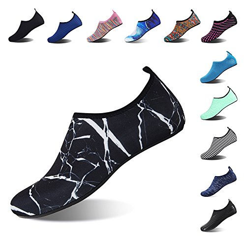 Yoga Black Mens Swim Quick Shoes Diving Beach Socks for Water 03 Pool Barefoot Womens Surf Dry Aqua Snorkeling Spotrs Shoes AqaCOw