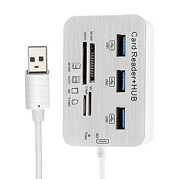 KESOTO 7 en 1 USB-C HUB Adaptador (USB 3.0, Lector de ...