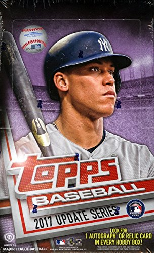 2017 Topps Baseball Update Series Hobby Box 36 Packs of 10 Cards - Possible Cody Bellinger, Aaron Judge, All-Star game cards