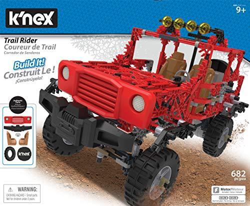 K'nex 15222 Trail Rider Building Set Construction Toy, Multicolour from K'nex