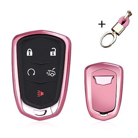 Amazon.com: MAXMILO - Funda protectora para llave Cadillac ...