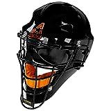 ALL-STAR MVP2300SP MVP Players Series Catchers Helmet Size: Adult, Color: Black