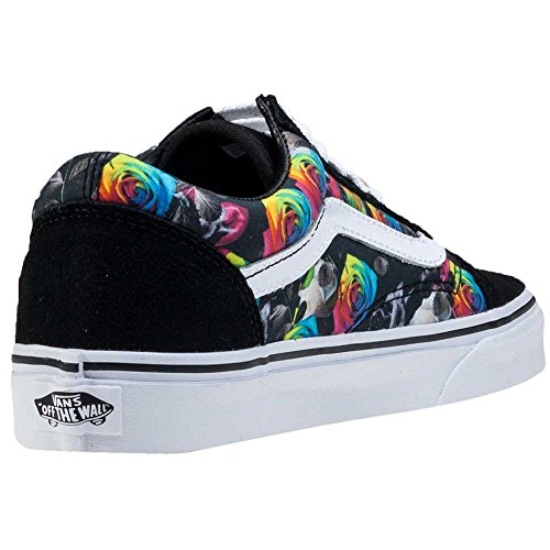 24c1eae488a6 85%OFF Vans Unisex Old Skool (Rainbow Floral) Skate Shoe ...