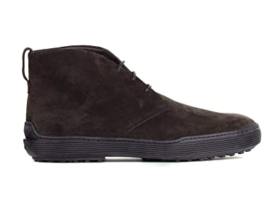 8d7cc418ffb948 Tod's Mens Dark Brown Suede Chukka Desert Ankle Boots Size UK6/US7~RTL$595