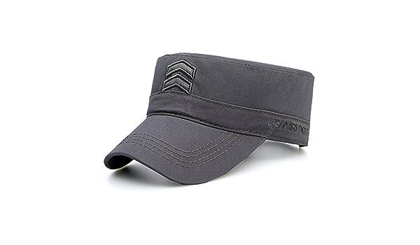 MAOCAP Gorra de béisbol de Invierno Masculina Gorra de Verano Sombrero de  Sol Gorra de Sol Sombrero de Copa Plana 356283a380c