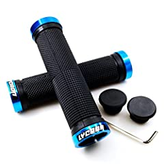 LYCAON Wide Apply Handle Bar Grips        Size:  Length: 132 mm ( 5.2 inch ) Product Diameter:33mm ( 1.3inch )        Weight:  Weight (per pair):116g (4.1 oz ) Suitable for:  Bike handlebars with outer diameter 20-22mm Note: The expand...
