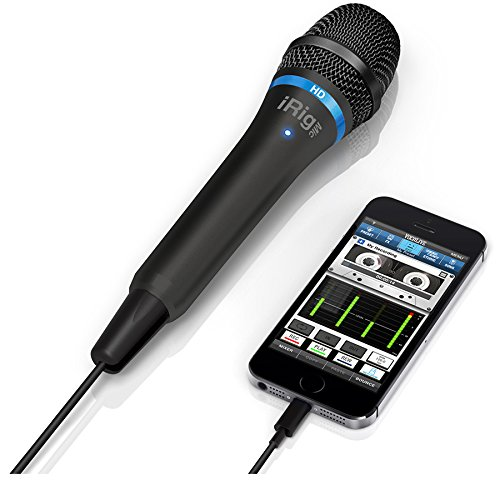 IK Multimedia iRig Mic HD high-definition handheld microphone for iPhone, iPad and Mac (black) by IK Multimedia (Image #1)