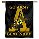 College Flags and Banners Co. Army Black Knights Banner House Flag