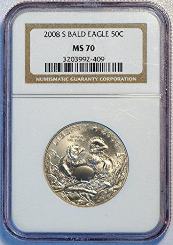 2008 S Bald Eagle Half Dollar Commemorative Half Dollar ms 70 NGC
