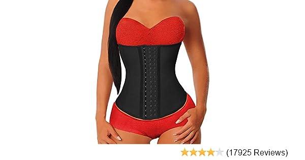 New Women Chloro Fibre Waist Trainer Body Shaper Corsets with Zipper Hot Shapers Cincher Corset Top Slimming Belt Plus Size