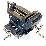 6'' Cross Drill Press Vise Slide Metal Milling 2 Way X-Y Clamp Machine
