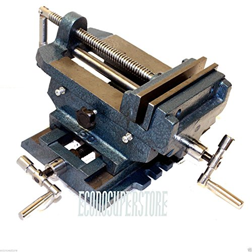 6'' Cross Drill Press Vise Slide Metal Milling 2 Way X-Y Clamp Machine by I_S IMPORT
