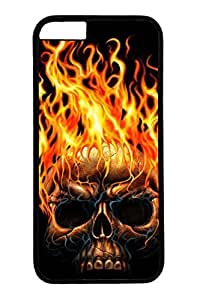 Cool Skull 12 Slim Soft Cover For Iphone 6 Cover Case TPU Black Cases
